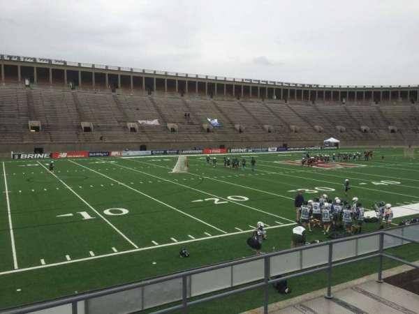 Harvard Stadium, secção: 35, fila: C, lugar: 14
