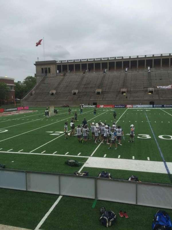 Harvard Stadium, secção: 33, fila: N, lugar: 12