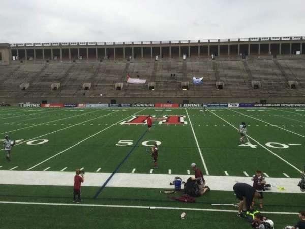 Harvard Stadium, secção: 31, fila: N, lugar: 4