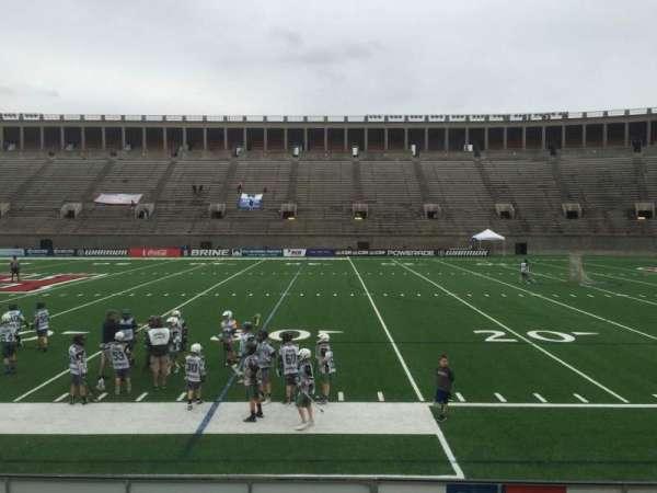 Harvard Stadium, secção: 29, fila: N, lugar: 10