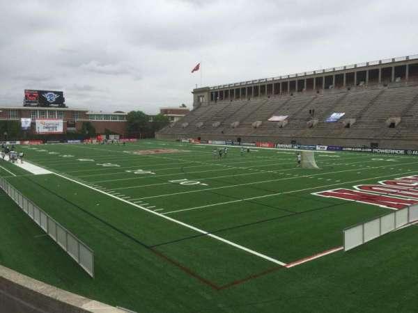 Harvard Stadium, secção: 24, fila: P, lugar: 12