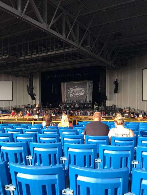 PNC Music Pavilion, secção: 5, fila: Q, lugar: 21