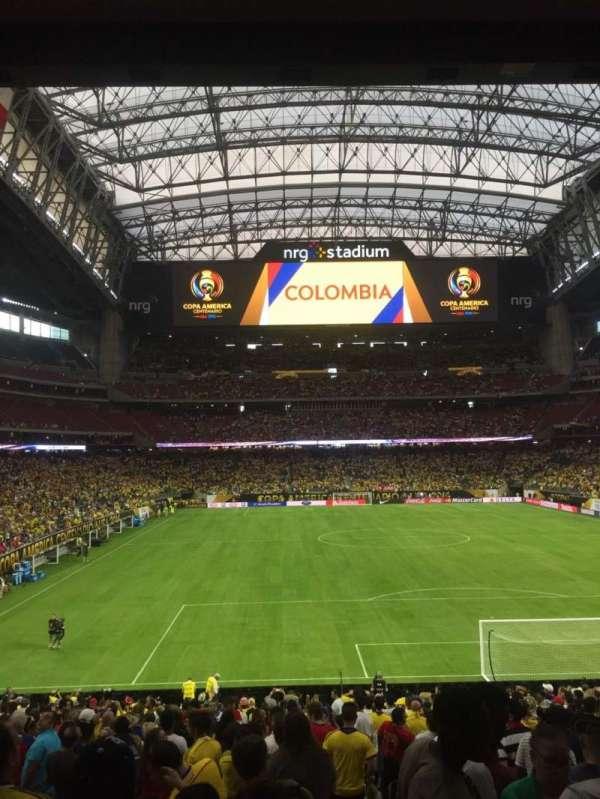 NRG Stadium, secção: 138, fila: EE, lugar: 1