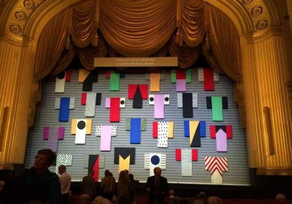 War Memorial Opera House, secção: Orchestra, fila: M, lugar: 106