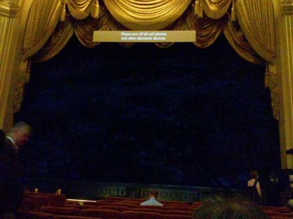 War Memorial Opera House, secção: Orchestra, fila: K, lugar: 108