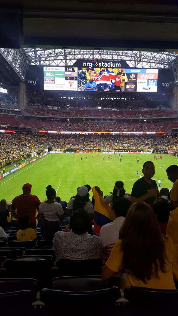 NRG Stadium, secção: 118, fila: GG, lugar: 3