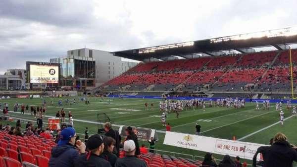 TD Place Stadium, secção: M, fila: 17, lugar: 20