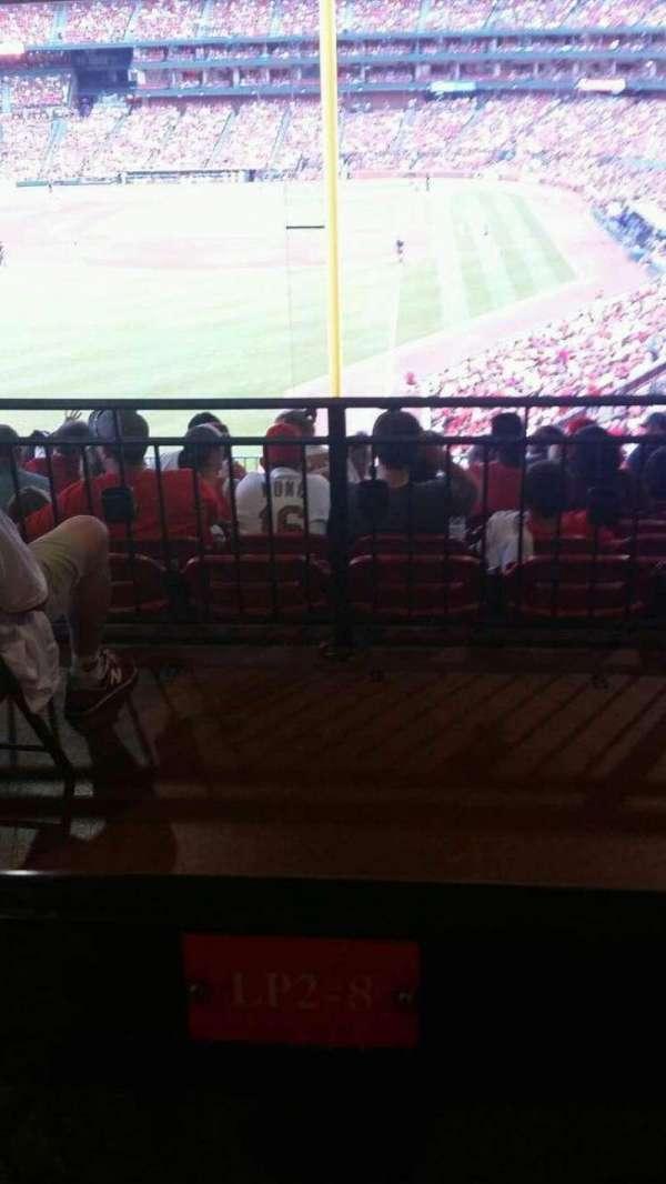 Busch Stadium, secção: LP2, fila: 12, lugar: 8