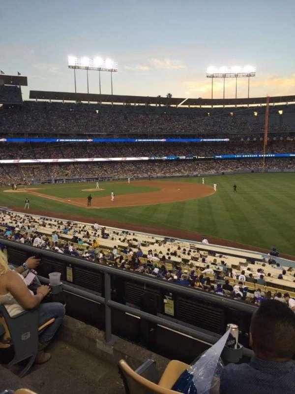 Dodger Stadium, secção: 158LG, fila: C, lugar: 3
