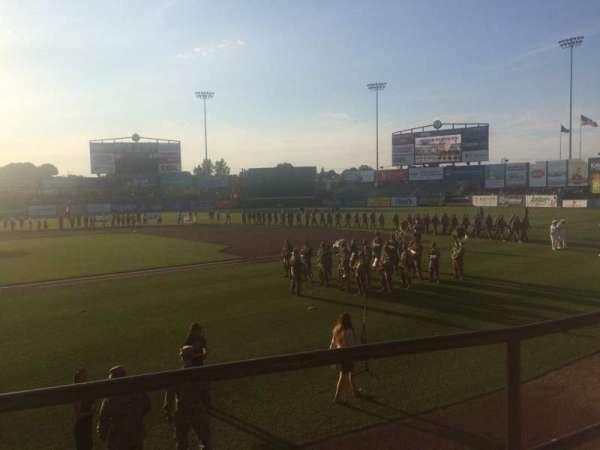 McCoy Stadium, secção: 4, fila: B, lugar: 3