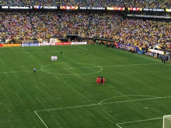 MetLife Stadium, secção: 204, fila: 7, lugar: 19