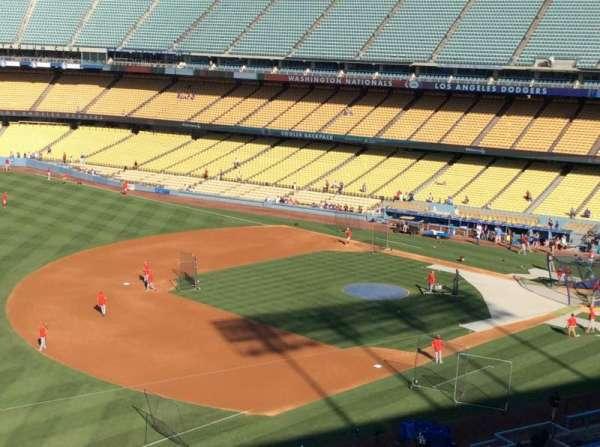 Dodger Stadium, secção: 35RS, fila: E, lugar: 3