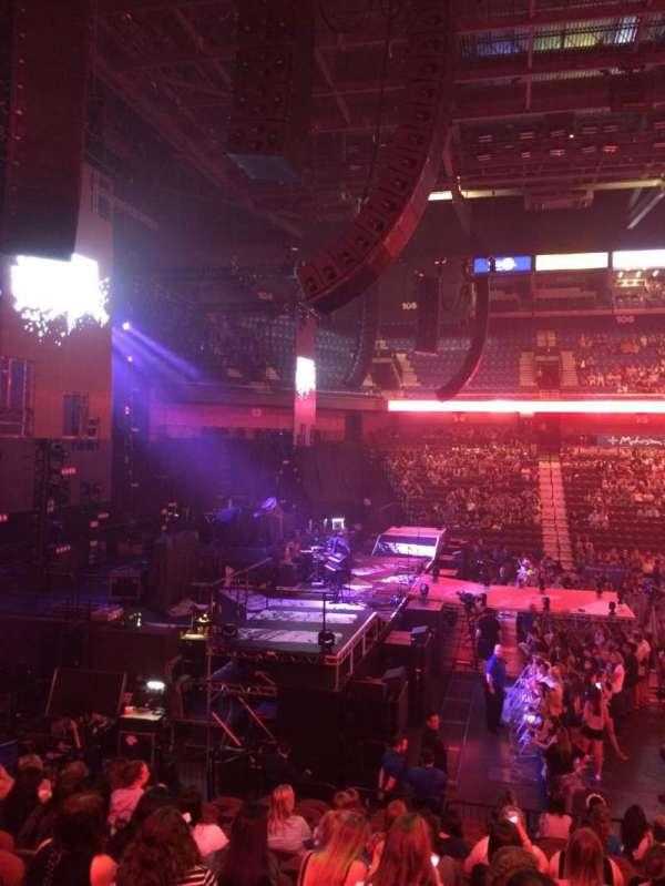 Mohegan Sun Arena, secção: 26, fila: Q, lugar: 4
