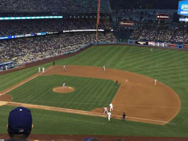 Dodger Stadium, secção: 20RS, fila: G, lugar: 18