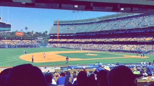 Dodger Stadium, secção: 27FD, fila: W, lugar: 3