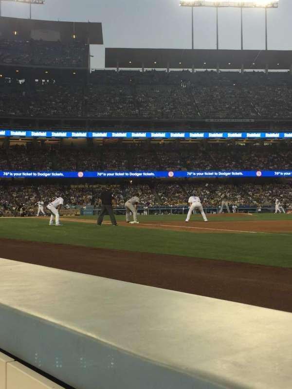 Dodger Stadium, secção: 32BL, fila: 1, lugar: 7-8