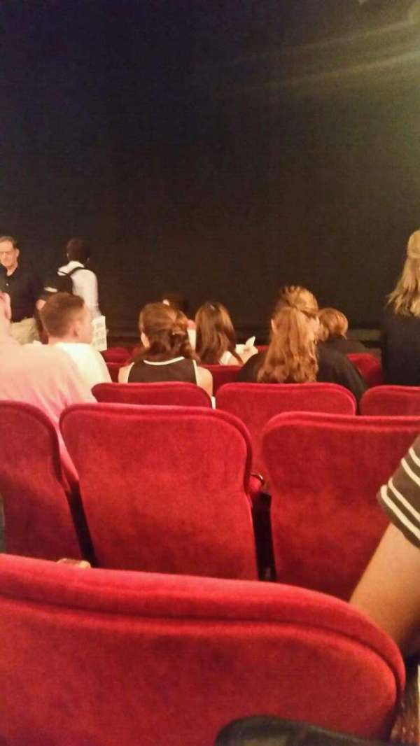 Walter Kerr Theatre, secção: orchr, fila: H, lugar: 14