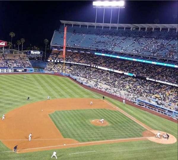 Dodger Stadium, secção: 23RS, fila: G, lugar: 7