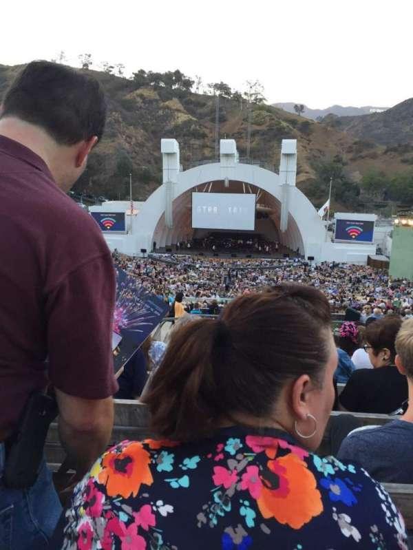 Hollywood Bowl, secção: M2, fila: 11, lugar: 120