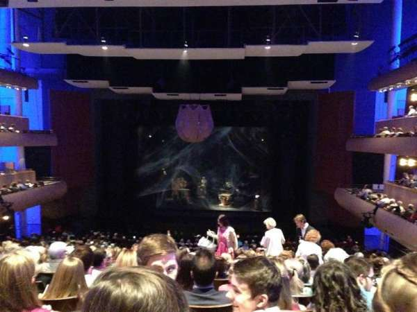 DeVos Performance Hall, secção: Mezzanine, fila: L, lugar: 19
