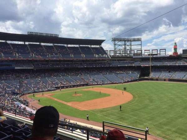 Turner Field, secção: 321, fila: 5, lugar: 3