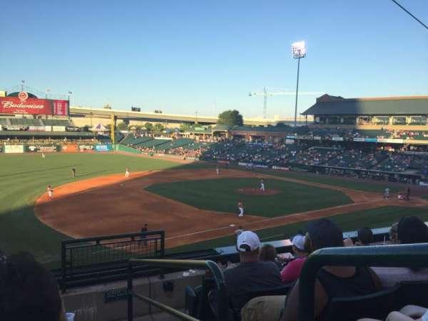 Louisville Slugger Field, secção: 223, fila: E, lugar: 1