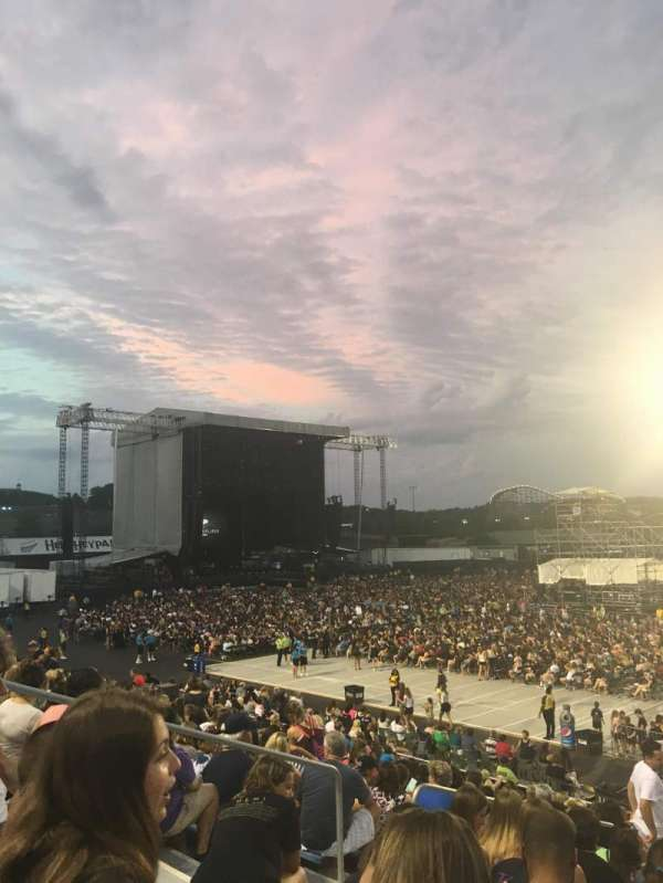 Hershey Park Stadium, secção: 6, fila: K, lugar: 24