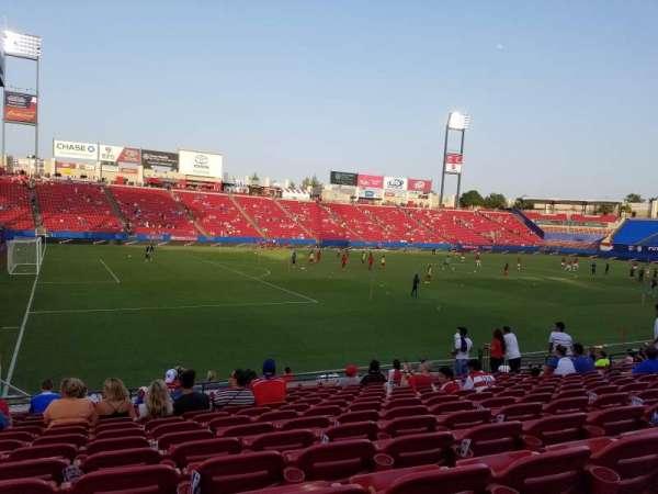 Toyota Stadium, secção: 102, fila: 13, lugar: 6