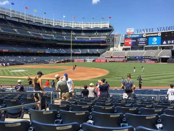 Yankee Stadium, secção: 114A, fila: 9, lugar: 12