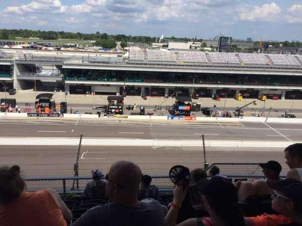 Indianapolis Motor Speedway, secção: Penthouse A Box 6, fila: H, lugar: 5