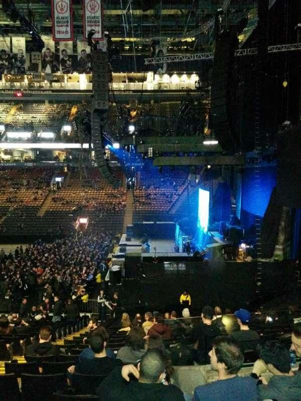 Scotiabank Arena, secção: 117, fila: 24, lugar: 14