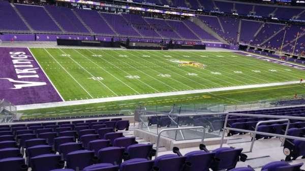 U.S. Bank Stadium, secção: 135, fila: 11, lugar: 5