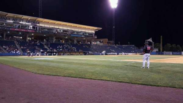 Richmond County Bank Ballpark, secção: 13, fila: A, lugar: 2