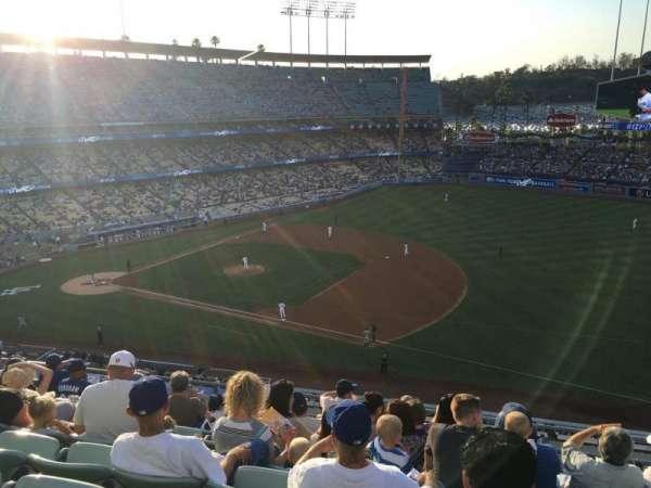 Dodger Stadium, secção: 26RS, fila: H, lugar: 11