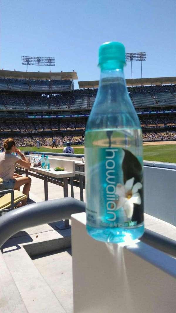 Dodger Stadium, secção: 44FD, fila: AA, lugar: 1
