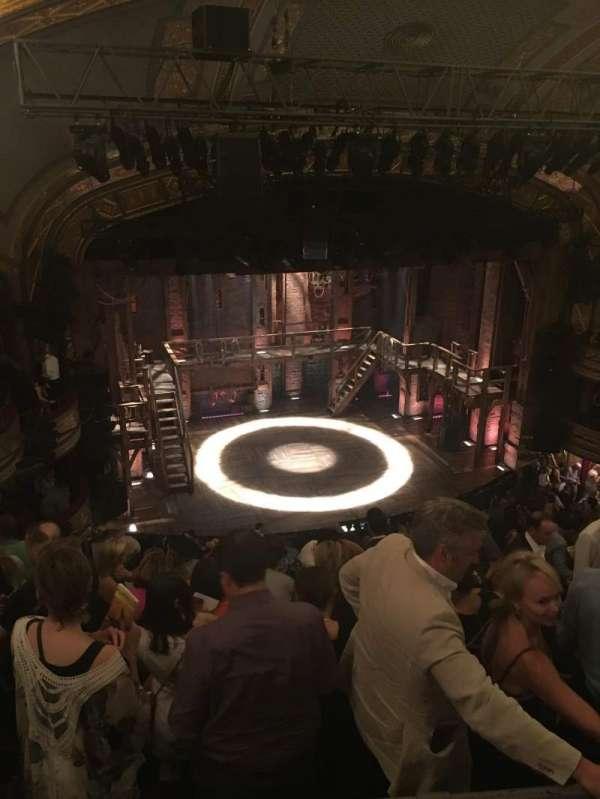 Richard Rodgers Theatre, secção: Rear Mezzanine L, fila: G