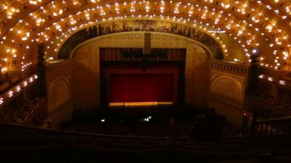 Auditorium Theatre, secção: Balcony, fila: N, lugar: 410