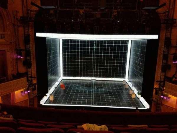 Ethel Barrymore Theatre, secção: Front Mezzanine C, fila: E, lugar: 106