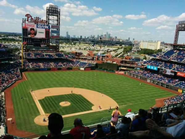 Citizens Bank Park, secção: 418, fila: 14, lugar: 14