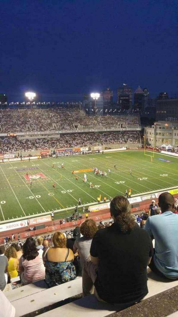 Percival Molson Memorial Stadium, secção: H2, fila: 15, lugar: 20