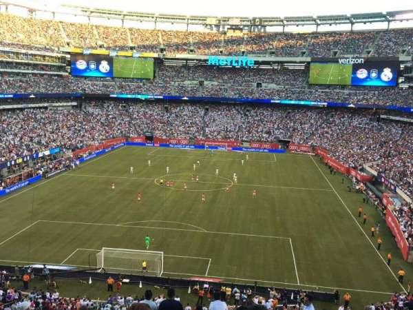 MetLife Stadium, secção: 249A, fila: 13W, lugar: 16