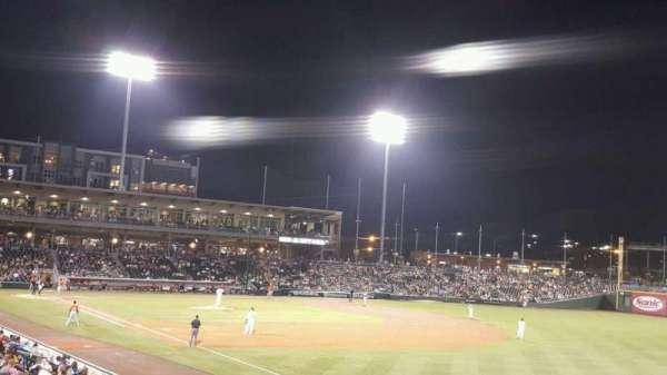 BB&T Ballpark (Charlotte), secção: 102, fila: V, lugar: 22