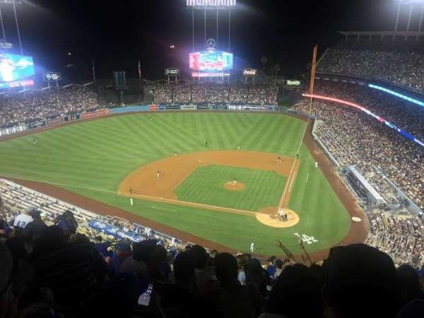 Dodger Stadium, secção: 9TD, fila: M, lugar: 14