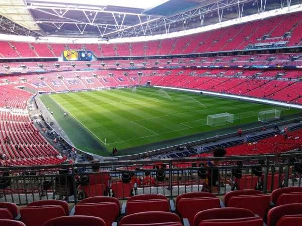 Wembley Stadium, secção: 243, fila: 11, lugar: 100