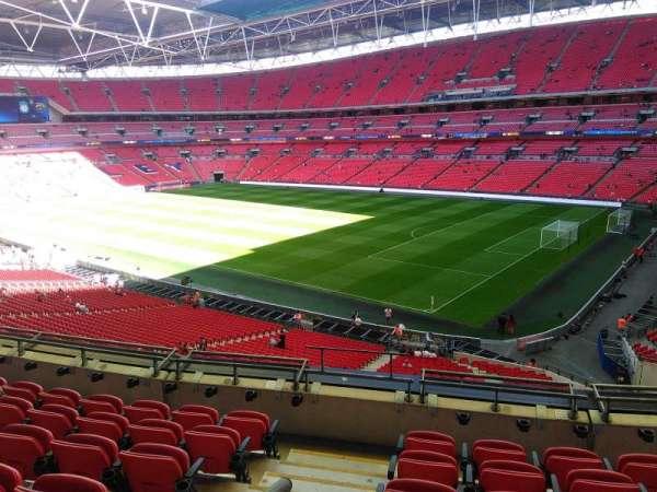 Wembley stadium, secção: 245