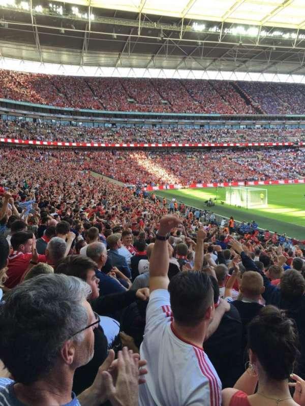 Wembley Stadium, secção: 130, fila: 24, lugar: 199