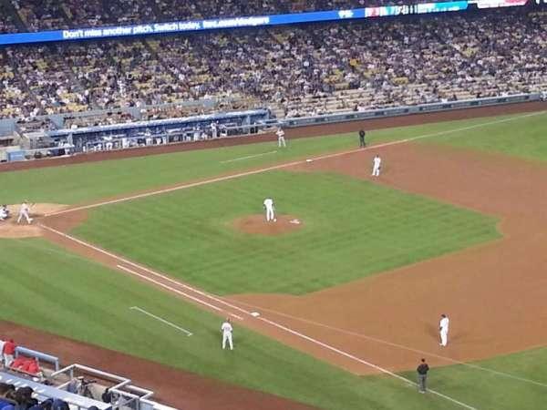 Dodger Stadium, secção: 38RS, fila: AA, lugar: 21