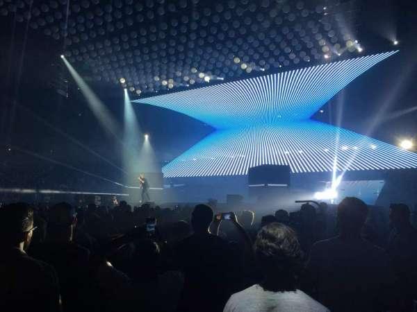 Scotiabank Arena, secção: 119, fila: 1, lugar: 9