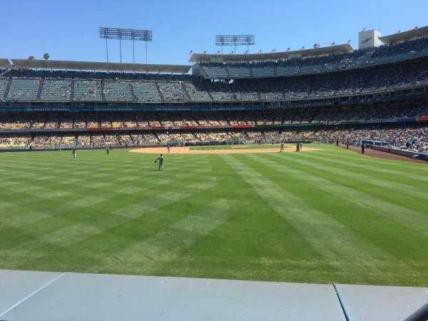 Dodger Stadium, secção: 303PL, fila: A, lugar: 3