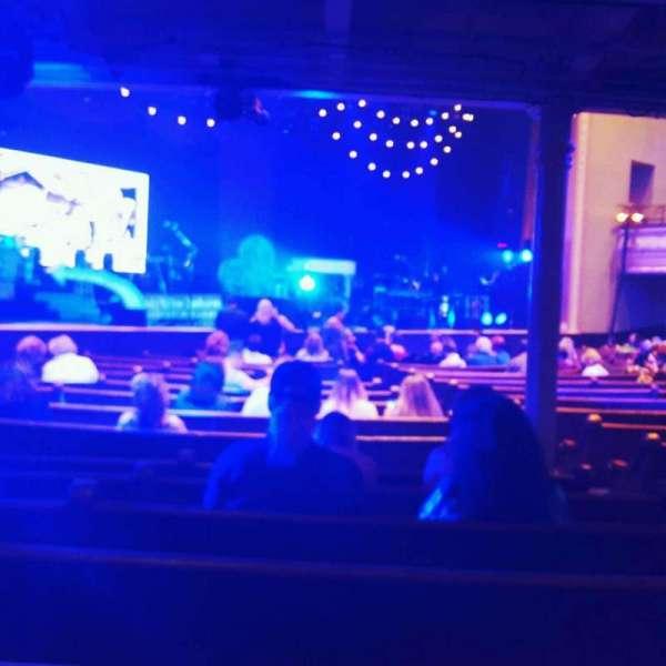 Ryman Auditorium, secção: MF-7, fila: s, lugar: 4